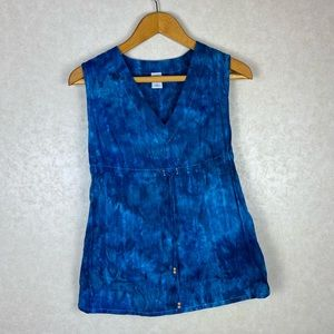 Hand Dyed Vintage Gap Tie Dye Tunic